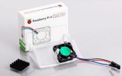 Megérkezett a hivatalos Raspberry Pi 4-házhoz való ventilátor